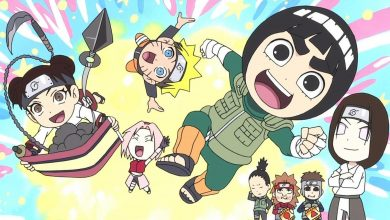 Photo of Rock Lee & His Ninja Pals