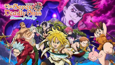 Photo of The Seven Deadly Sins Movie – Prisoners of the Sky