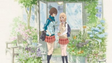Photo of Kase-san and Morning Glories